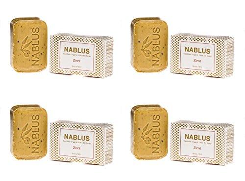 Savon à l'huile naturelle Cannelle 4 x 100 g en kit