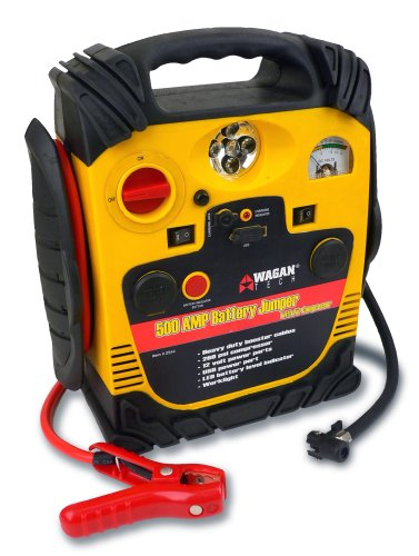 Sale!! Wagan 2544 500 Amp Battery Jumper with Air Compressor