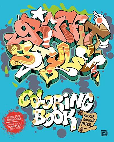 Graffiti Style Coloring Book (Colouring Books)