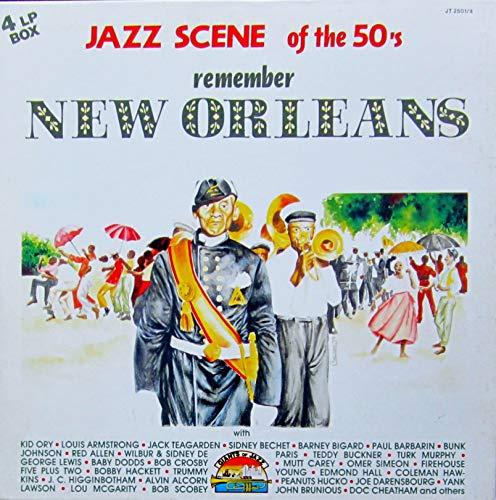 Jazz Scene of the 50's: Remember NEW ORLEANS [Vinyl Schallplatte] [4 LP Box-Set]