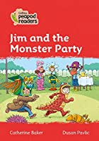 Level 5 - Jim and the Monster Party (Collins Peapod Readers)