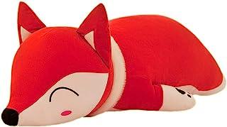 (18 بوصة (46 سم) ، ثعلب) - ألعاب حيوانات محشوة على شكل ثعلب VSFNDB مقاس 46 سم ألعاب قطيفة على شكل حيوانات حمراء للأطفال وا...