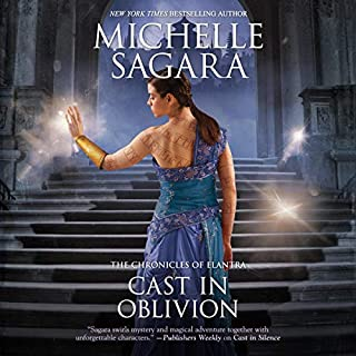 Cast in Oblivion     The Chronicles of Elantra              Written by:                                                                                                                                 Michelle Sagara                               Narrated by:                                                                                                                                 Khristine Hvam                      Length: 17 hrs and 28 mins     1 rating     Overall 5.0