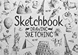 Sketchbook for Drawing and Sketching: Landscape, Horizontal Size Sketch Pad, Book For Doodling, Sketches, Scribblings, Perfect for Creative Kids, Children, Adults all Ages
