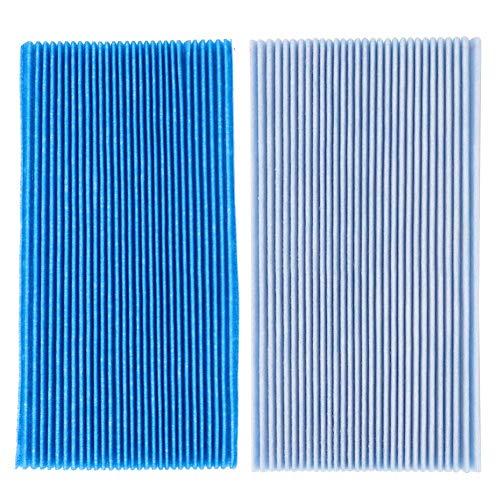 AUNMAS 5 Pezzi Filtro purificatore d'Aria Tessuto Non Tessuto Due Strati Accessori di Ricambio Adatto per DAIKIN MC70KMV2 MCK57LMV2