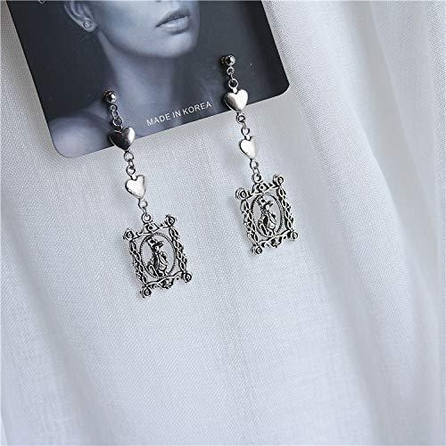 Earrings Gifts for Her Sliver Earrings Love Unicorn Dangle Earrings Vintage Gothic Earrings Jewellry Gifts for Women Girls