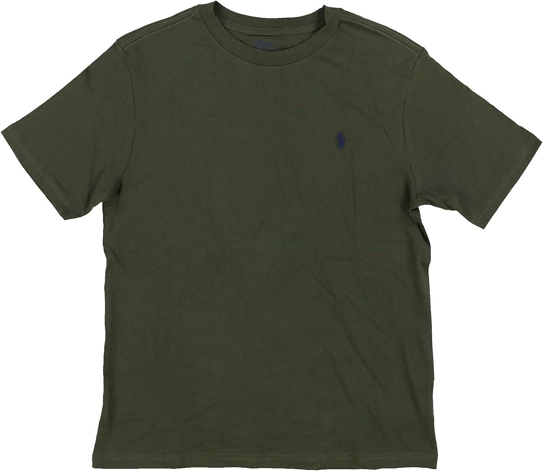Polo Ralph Lauren Kids 商店 Boy's Cotton 当店限定販売 Crew T-Shirt Neck Bi Jersey