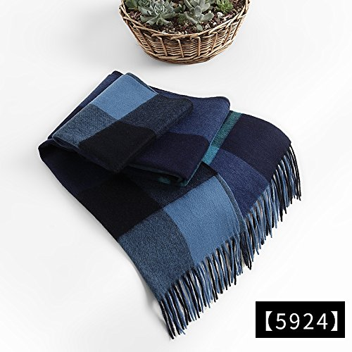 RENYZ.ZKHN The Red Scarf China Red Tassels Scarf Scarf Winter Scarf Shawl Unisex Warm Long 38 * 220cm,Five Thousand Nine Hundred and Twenty-Four