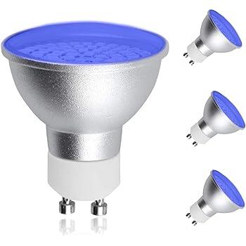 10 PCS Bombilla LED 1W Luz Blanca Luces 120 ° G5W4 10X