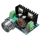 Zerama XH-M401 Módulo Buck Voltaje de CC de Alta Potencia XL4016E1 regulador DC-DC, con regulador de tensión máxima 8A neumáticos