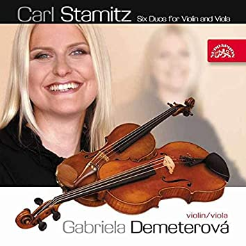 Stamitz: Six Duos for Violin and Viola (Dubbing Version)