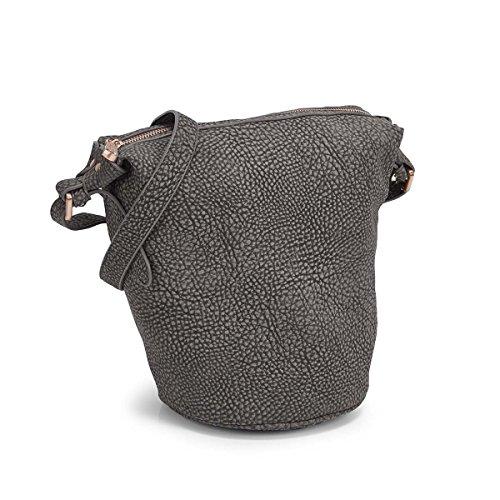 Co Lab Women's Bucket Cross Body Bag Grey 0 M US