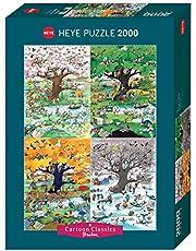HEYE 3329873 pussel, flerfärgad