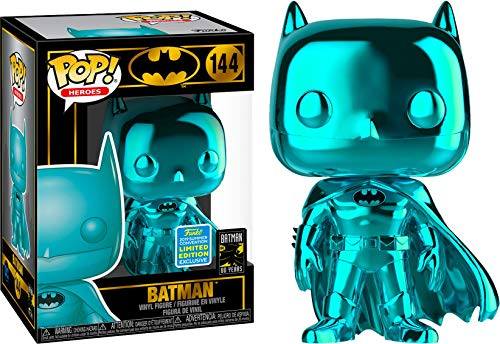 Funko Teal Chrome Batman - 2019 SDCC Exclusive Pop #144 Shared PRE-Order
