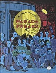 La parada de los freaks par Fabrice Colin