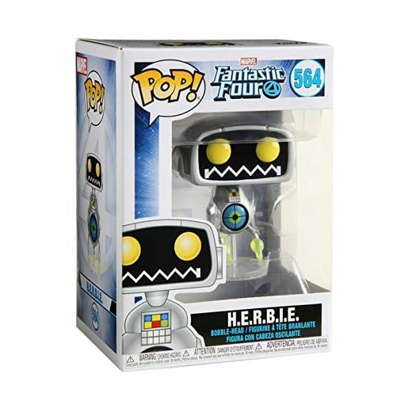 Funko Pop H.E.R.B.I.E (Los Cuatro Fantásticos 564) Funko Pop Los Cuatro Fantásticos
