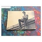 DEALBUHK Jay Chou Poster Pegatinas de Pared Decoración de la Pared Foto de Archivo Album Foto Estrella Mural rodeando cafetería Dormitorio apoyos (Color : A)