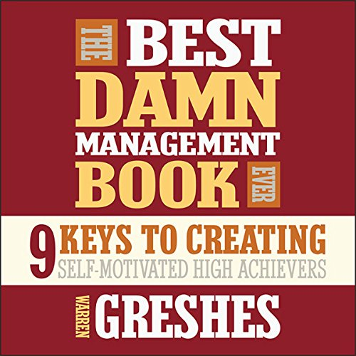 The Best Damn Management Book Ever audiobook cover art