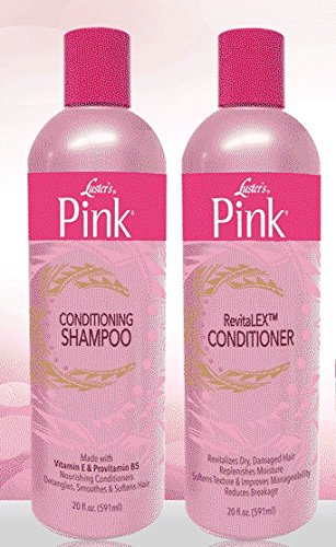 Luster's PINK Conditioning Shampoo & RevitaLEX Conditioner by Lusters