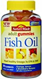 Nature Made Fish Oil Adult Gummies, 90 Count (Pack of 4)