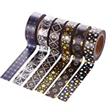 Laat tuercas cinta adhesiva papel decorativo carrocero cinta Masking Tape para agenda regalo 6pcs,...