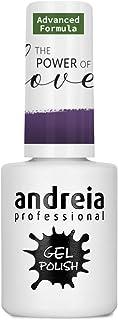 Andreia Gel de uñas semipermanente PL6 - Color morado - 10.5ml