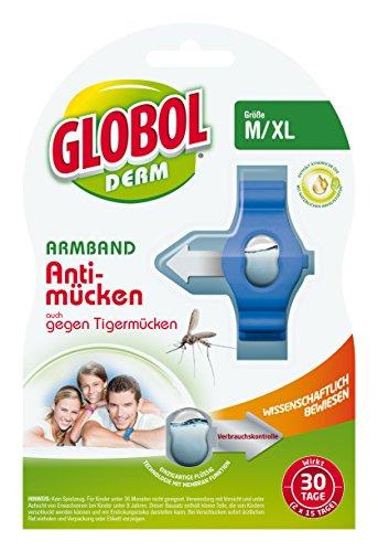Globol 81855187 Armband Anti-Mücken, mehrfarbig