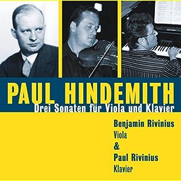 Paul Hindemith - Drei Sonaten