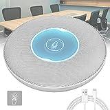 Peradix Microfonos Conferencias con Botón de Silencio, Microfono USB de Condensador Omnidireccional para Despacho,...