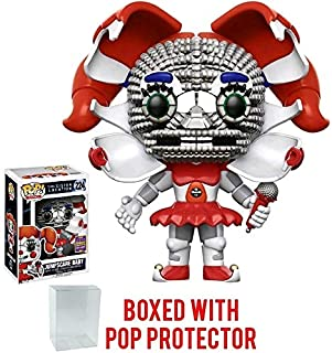 Funko Pop! Games: Five Nights at Freddy's Sister Location - Jumpscare Baby 2017 Summer Con Exclusive Vinyl Figure (Bundled with Pop BOX PROTECTOR CASE)