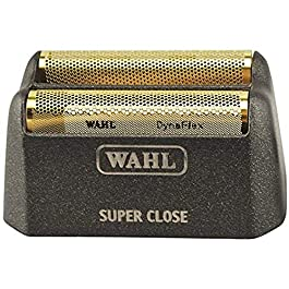 Wahl Professional 5Star Series Finale Shave Replacement Foil #7043100 – HypoAllergenic For Super Close Bump Free Shaving – Black 043917101958, 1 Count