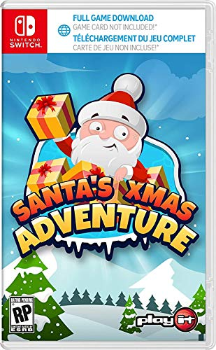 Santa's Xmas Adventure Complete Edition (game download code in box) - Nintendo Switch