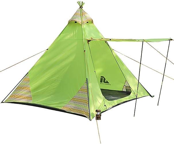 RHWJD Tente de Camping étanche pour 3-4 Personnes