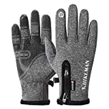 Fine Non-Slip Winter Gloves,Suitable for Indoor and Outdoor Sports, Short-Distance Cycling, Driving,...