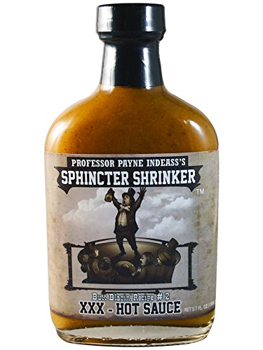 Sphincter Shrinker XXX Hot Sauce, 5.7 fl oz