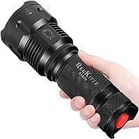 ✅【[LIMITIERTE ZEIT] KOSTENGÜNSTIG SPITZE! SEHR HELL!】—Jetzt brauchen Sie nur ein Viertel des Preises für den gleichen Typ Taschenlampe,du kannst eine super Taschenlampe haben, die leistungsstark und exquisit ist. Der von uns verwendete Docht ist Cree...