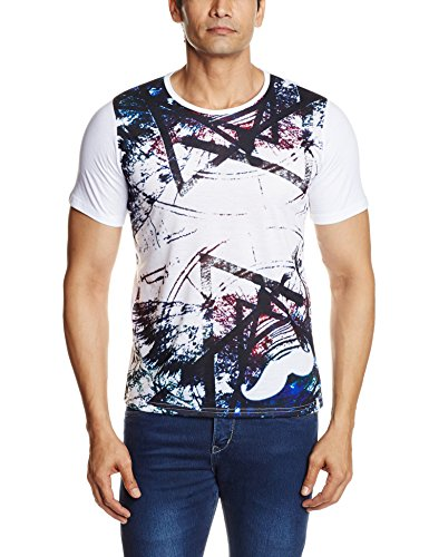 Street Fuel Men's T-Shirt (SF15ST024XL_X-Large_Multi-Coloured)