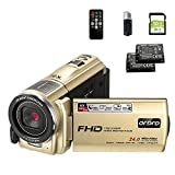 Best Camcorders Hdvs - ORDRO HDV-F7 Video Camera Camcorder FHD 1080P IR Review