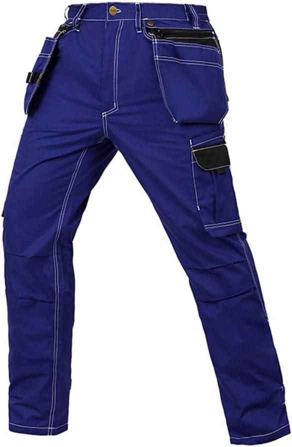 Bicye&Sandth Work Pants in Cargo Pantalons Hommes's Workwear Working Pants Tool Trouser Black Work Trousers B129 black