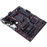 Tablero de reemplazo de computadora Fit For Asus Prime B350-PLUS Placa Base De Escritorio AMD B350 Socket AM4 DDR4 64GB M.2 B350 USB3.1 PCI-E 3.0 AM4 DDR4 ATX Placa Base Placa base de computadora de e