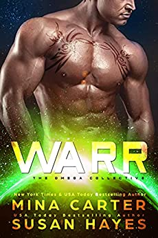 Warr (The Omega Collective Book 4) by [Mina  Carter, Susan  Hayes]