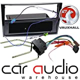 Image of T1 Audio VX15 - Vauxhall Zafira B 2004 -2009 (Piano Black) Complete Car Stereo Facia Fitting Kit. Single Din Facia, Release Keys, ISO Loom & Aerial Adaptor