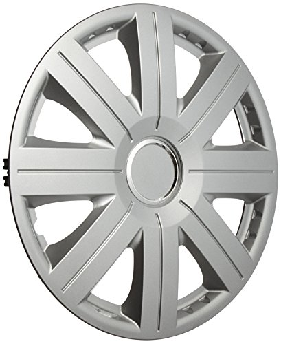 Altium 504816 Boîte 4 Enjoliveurs 16 S-800 Chrome Ring