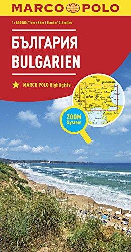 MARCO POLO Länderkarte Bulgarien 1:800 000 (MARCO POLO Länderkarten)