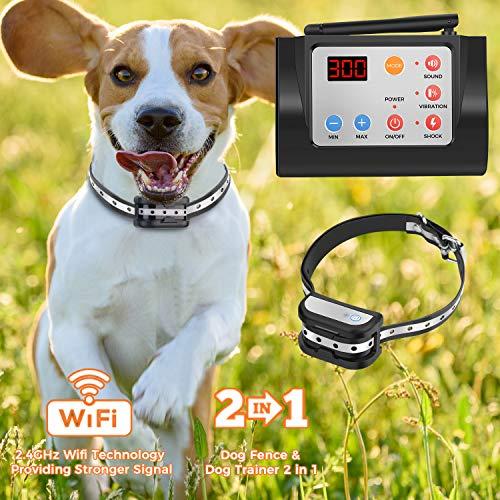 Hokita Dog Fence Wireless & Training Collar