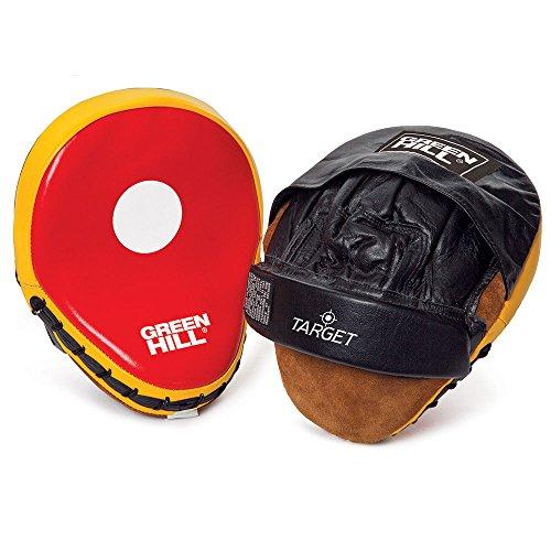 Green Hill Fawn Target Boxhandschuhe CURVED Bärentatze & Punch Target TRAINING Target (Kunstleder)