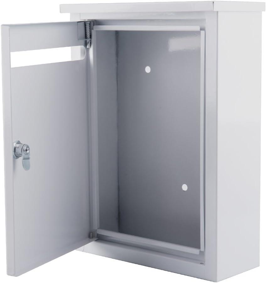 Fasmov Metal Drop Box Manufacturer OFFicial Choice shop Inter-Office Mailbox 3.9 I 14.2 x 10.2