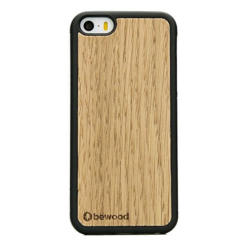 BeWood IP5 de Dab Roble Protectora Apple iPhone 5/5s/SE