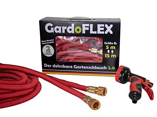 GardoFlex de flexibele tuinslang van de nieuwe generatie. 15 Meter rood