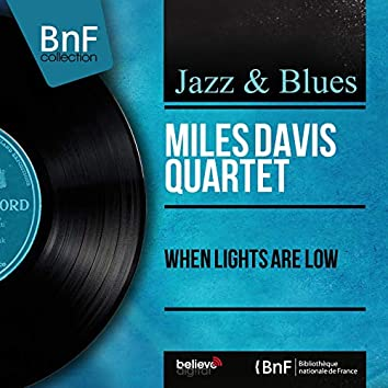 When Lights Are Low (feat. John Lewis, Percy Heath, Max Roach) [Mono Version]